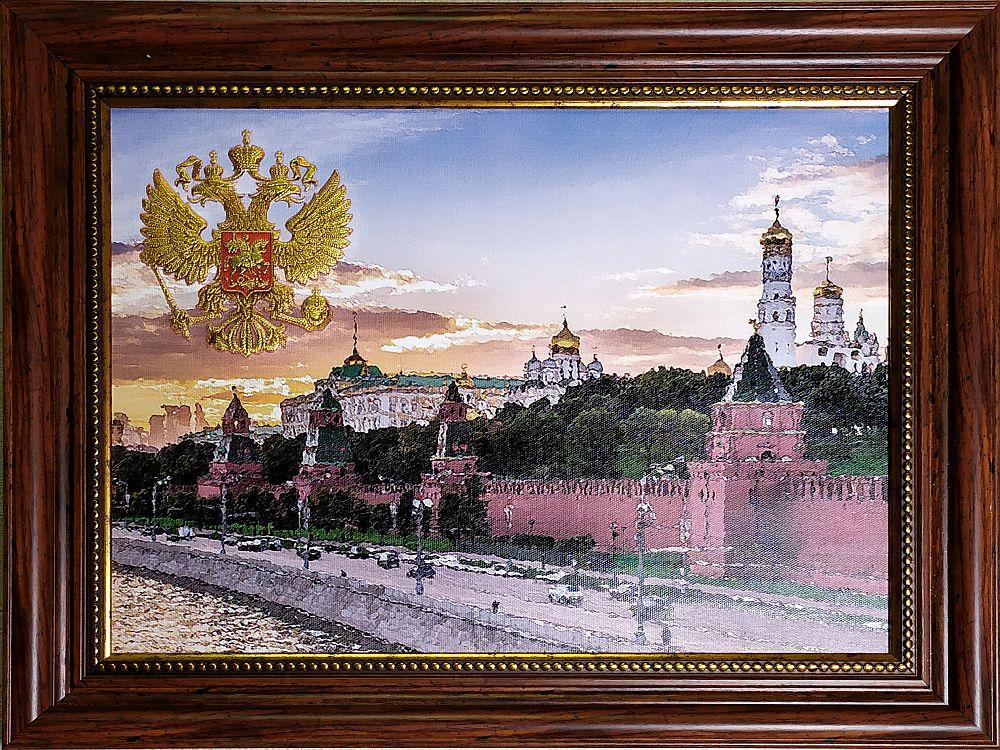 Фото kartina-naberezhnaya-kremlya-gerb
