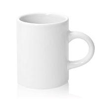 Фото Кружка керамическая белая кофейная