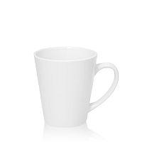 Фото Кружка керамическая белая, конусная малая для сублимации