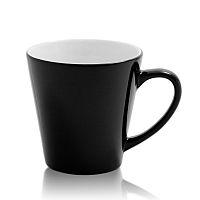 Фото Кружка керамическая хамелеон конусная малая для сублимации, цвет черный
